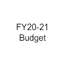 FY20-21 Budget (Upcoming Biennium)